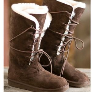 🎉UGG Whitney Tall Lace Up Suede Boots🎉